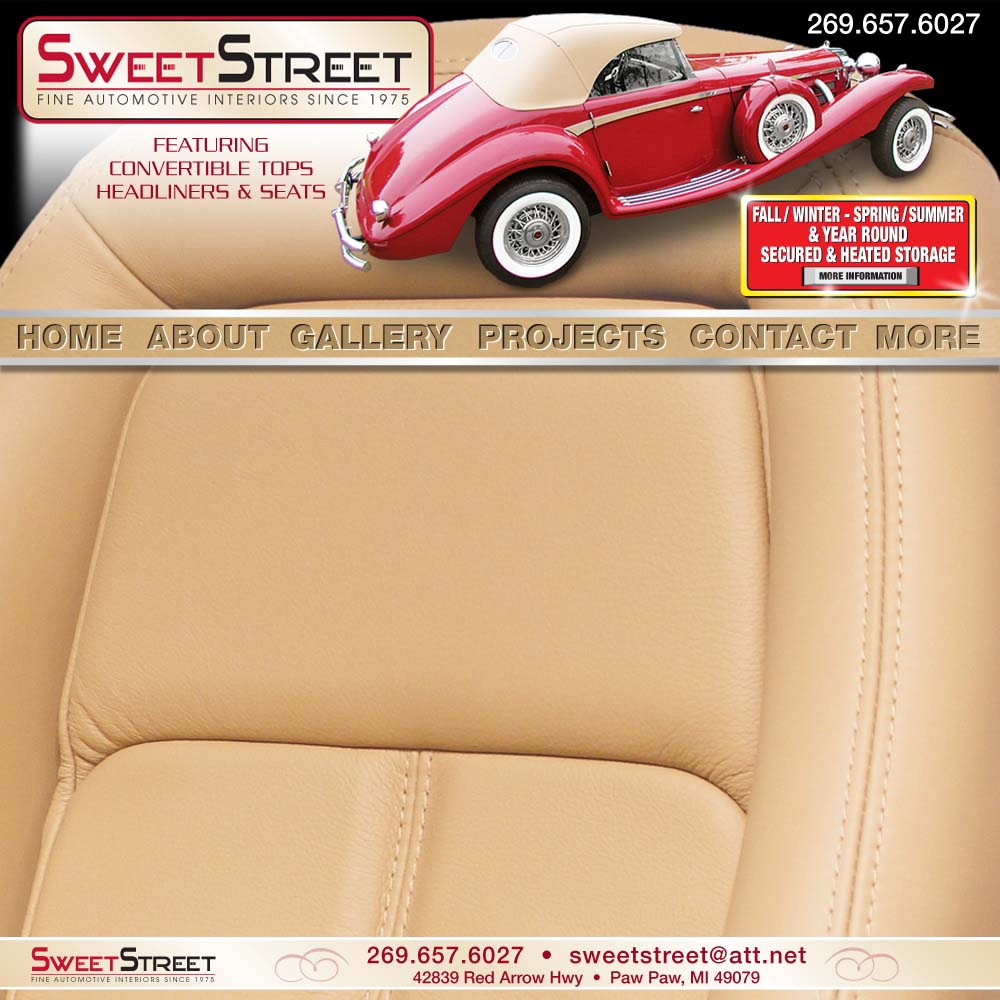 Sweet Street Automotive Interiors Elegant or Sporty Paw Paw Michigan MI